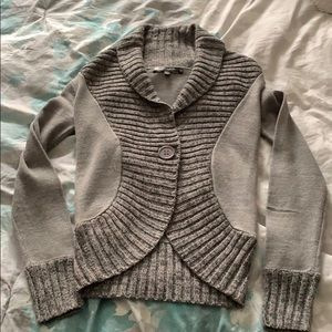 Mandees sweater cardigan with front button size SM